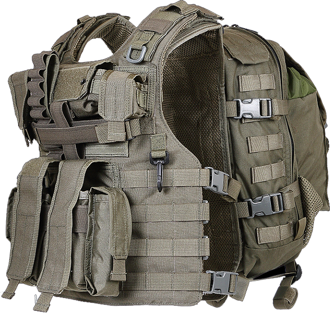 Semi Modular Tactical Vest